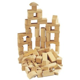 BRIO Natural Beechwood Building Blocks